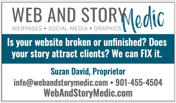 Web and Story Medic logo